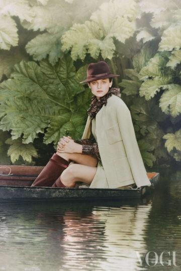 Emma Corrin Vogue Magazine Uk October