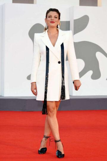 Emma Marrone Miss Marx Premiere 2020 Venice Film Festival