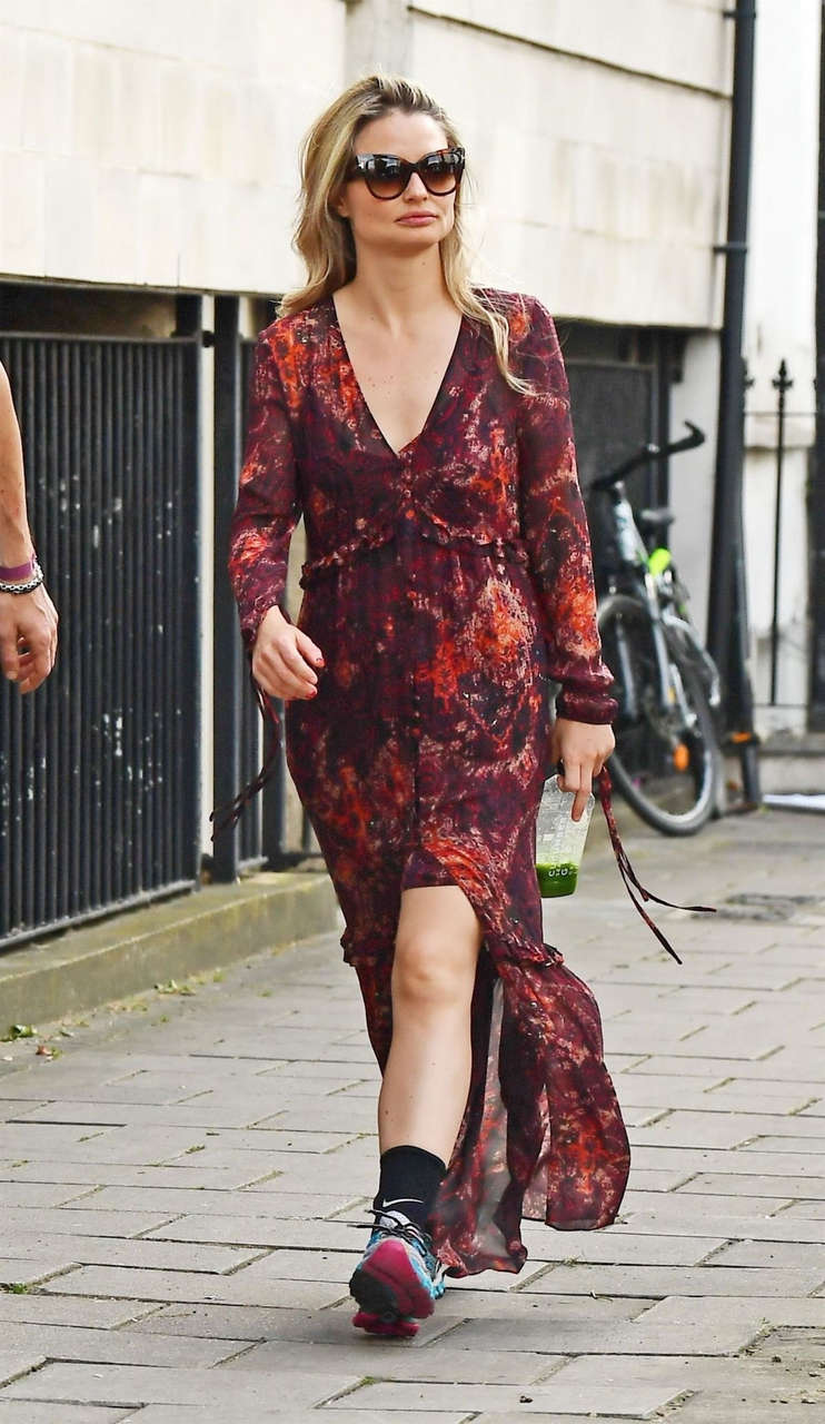 Emma Rigby Out About Notting Hill