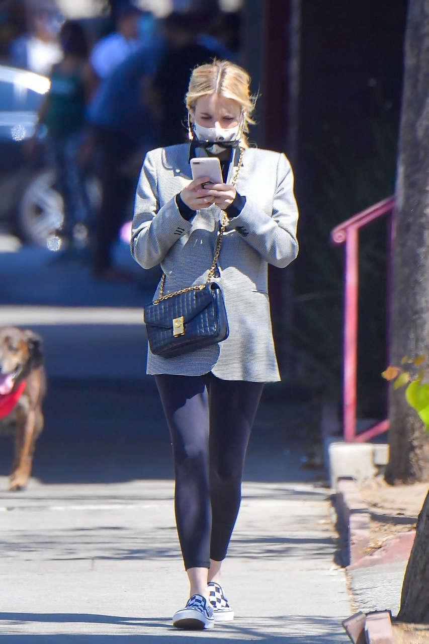 Emma Roberts Abd Kristen Stewart Out Los Angeles