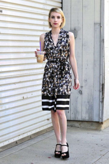 Emma Roberts Out About Los Angeles