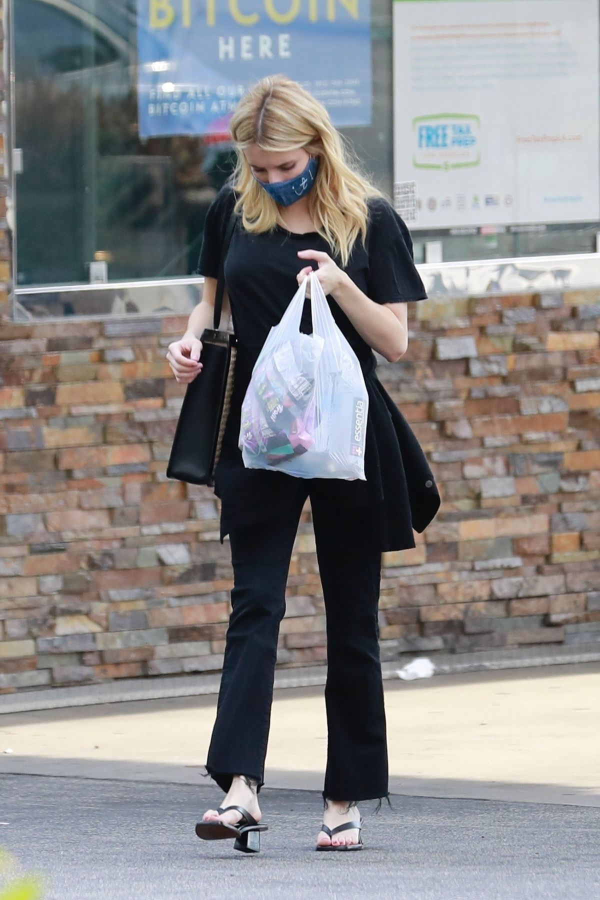 Emma Roberts Out Shopping Los Feliz