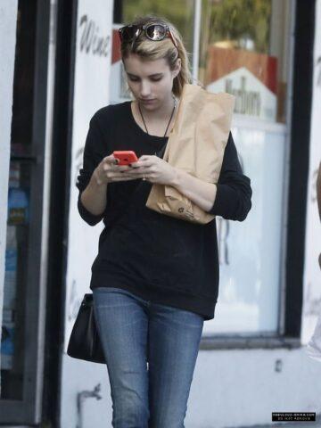 Emma Roberts Shopping West Hollywood