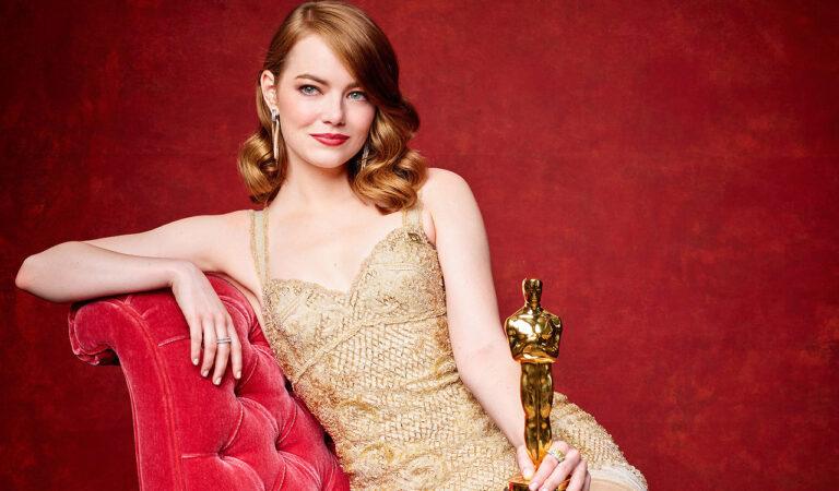 Emma Stone Oscar 2017 Winner (1 photo)