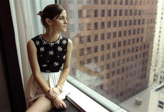 Emma Watson Chris Pizzello Photoshoot Toronto Film Fest