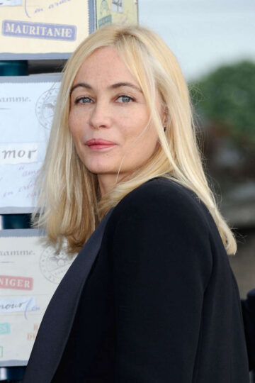 Emmanuelle Beart 30th Cabourg Film Festival Opening Cabourg France