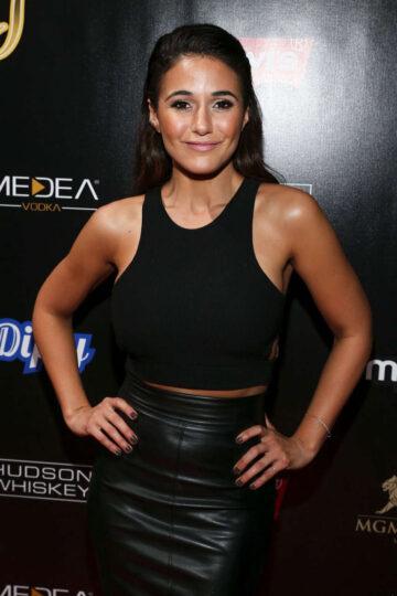 Emmanuelle Chriqui 13th Annual Leather Laces Mega Party Super Bowl 50 San Francisco