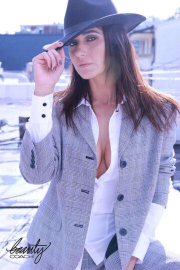 Emmanuelle Chriqui For Beauty Coach