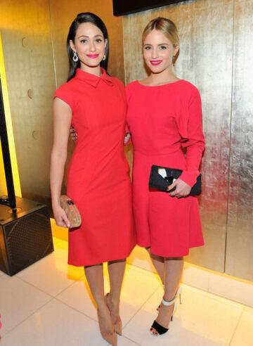 Emmy Rossum Giorgio Armani Pre Oscar Event Beverly Hills