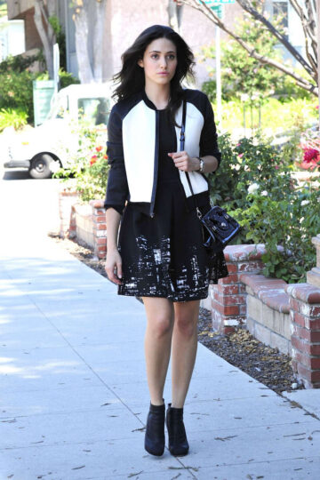 Emmy Rossum Out About Burbank