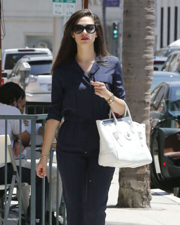 Emmy Rossum Out Hollywood