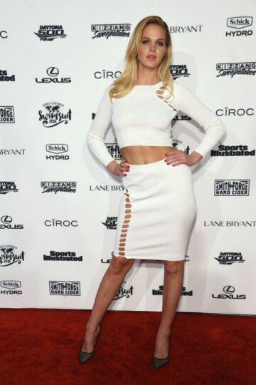 Erin Heatherton Sports Illustrated Swimsuit 2016 Nyc Vip Press Event