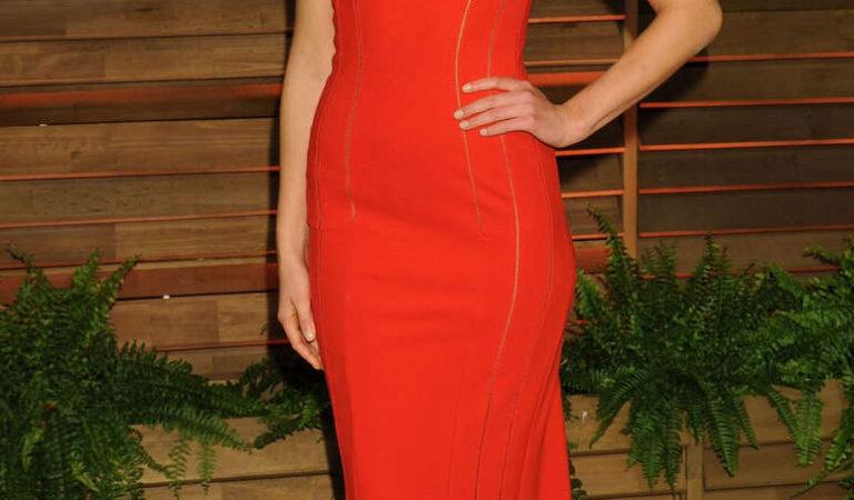 Erin Heatherton Vanity Fair Oscar Party Hollywood (4 photos)