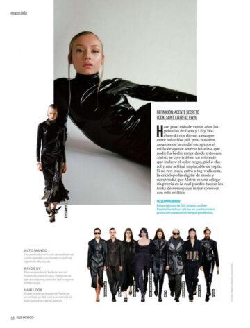 Ester Exposito Elle Magazine Mexico September