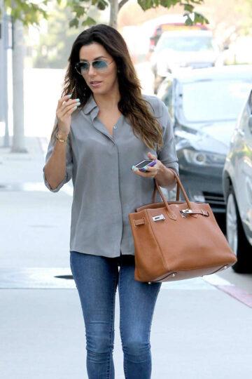 Eva Longoria Heading Meeting Los Angeles