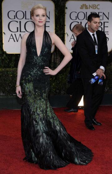Evan Rachel Wood 69th Annual Golden Globe Awards Los Angeles