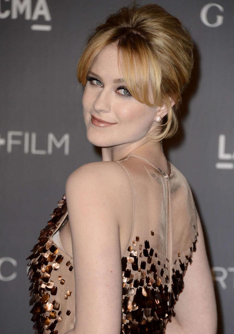 Evan Rachel Wood Lacma Art Gala Los Angeles