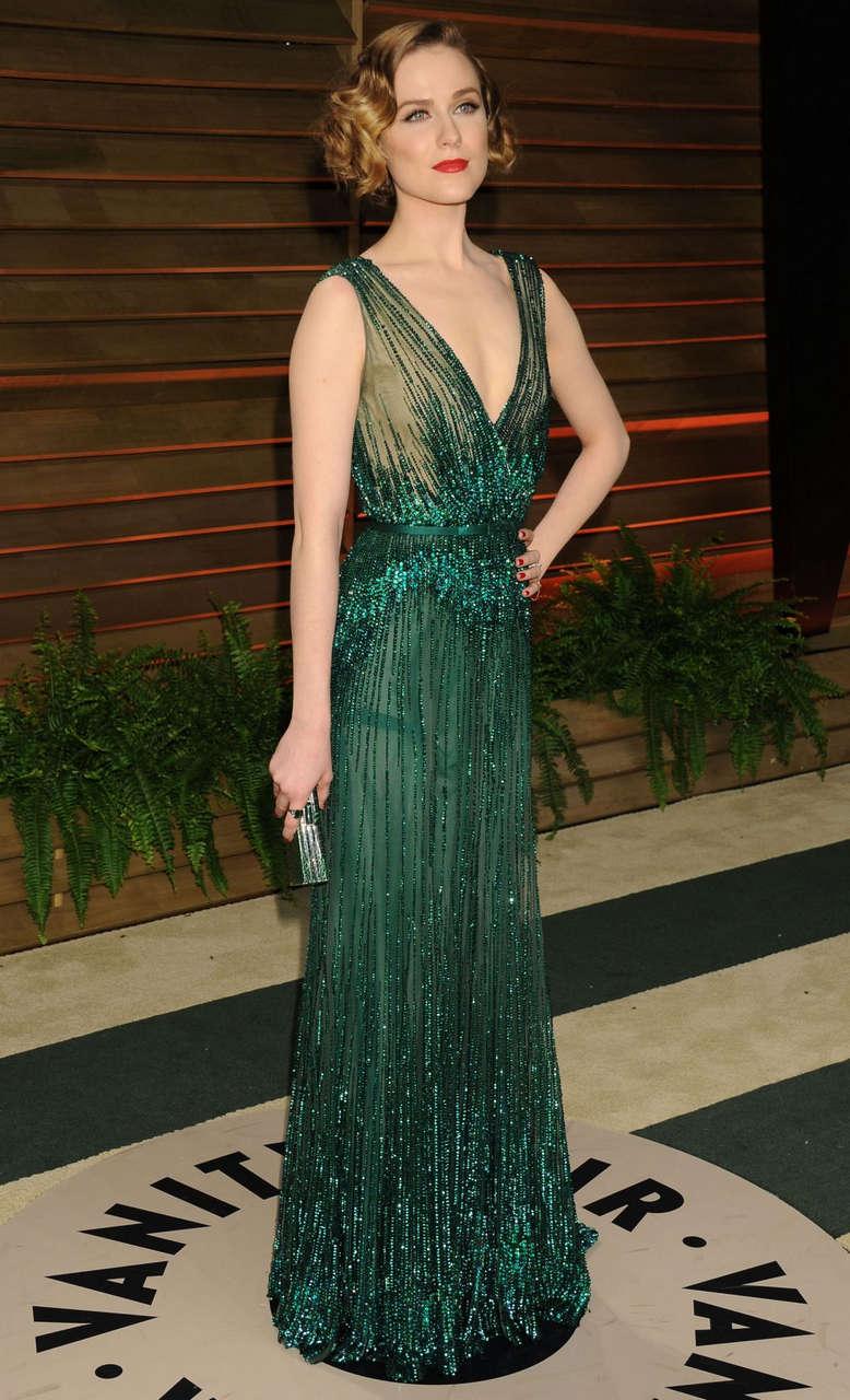 Evan Rachel Wood Vanity Fair Oscar Party Hollywood