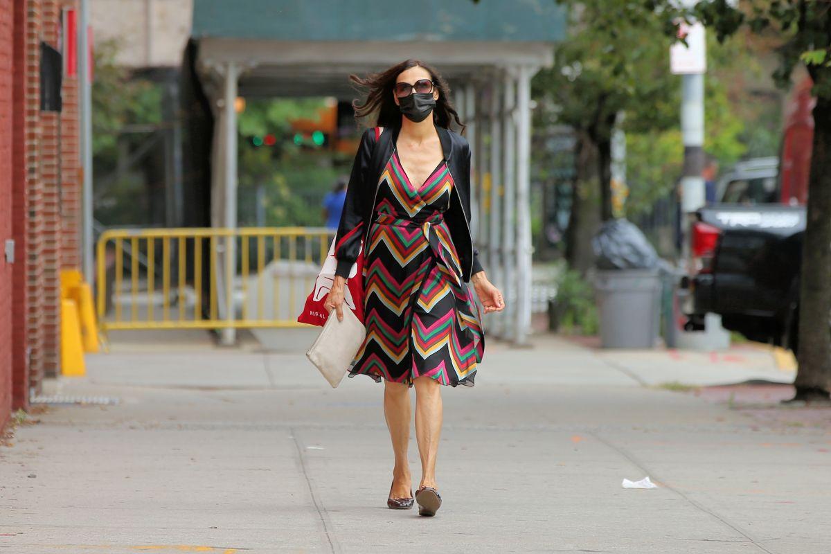 Famke Janssen Out New York