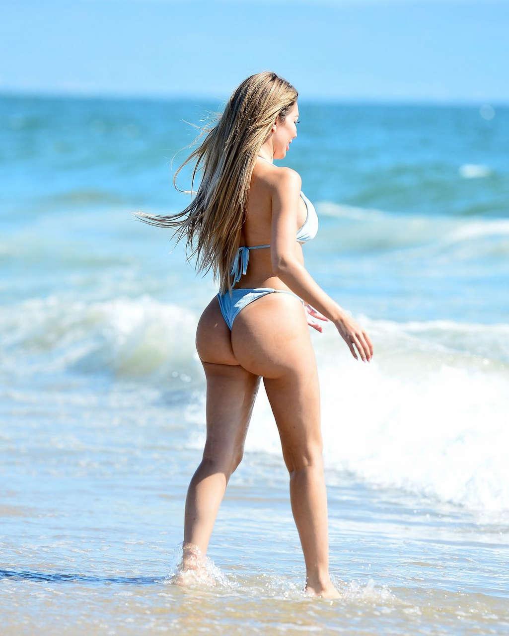 Farrah Abraham Bikini Beach Malibu