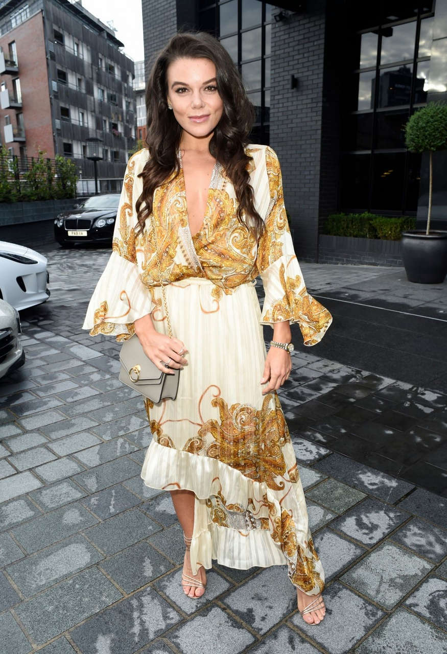 Faye Brookes Out Manchester