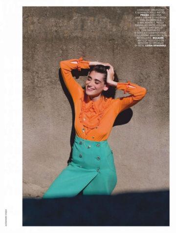 Federica Sabatini Pilar Fogliati Marie Claire Magazine Italy August