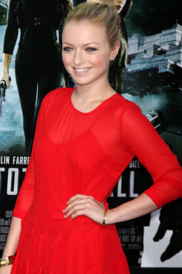 Francesca Eastwood Total Recall Premiere Hollywood