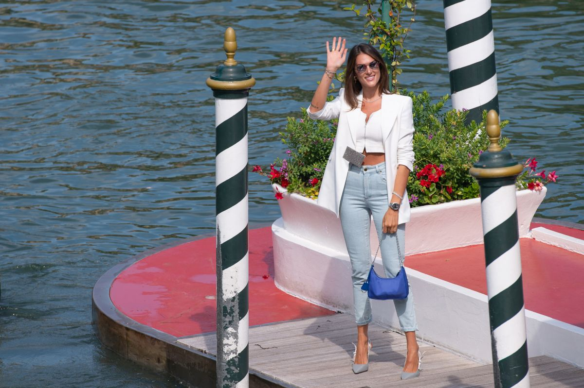 Francesca Sofia Novello Arrives Hotel Excelsior Venice