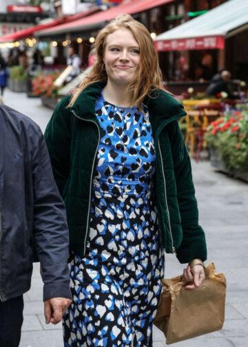 Freya Ridings Out About London