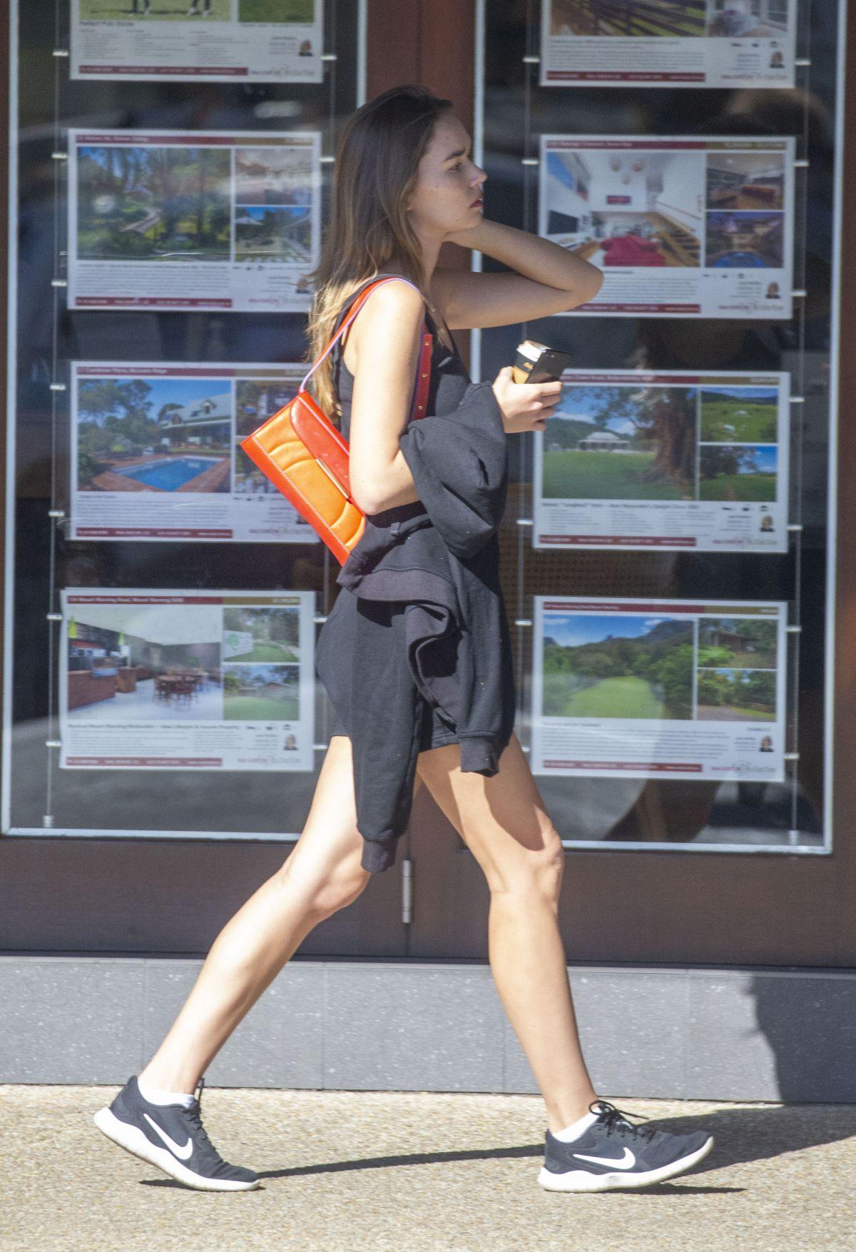 Gabriella Brooks Out Shopping Byron Bay