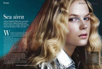 Gabriella Wilde Instyle Magazine Uk 2012 April Issue