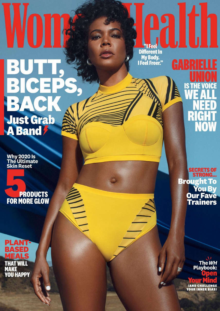 Gabrielle Union Womens Health Magazine October
