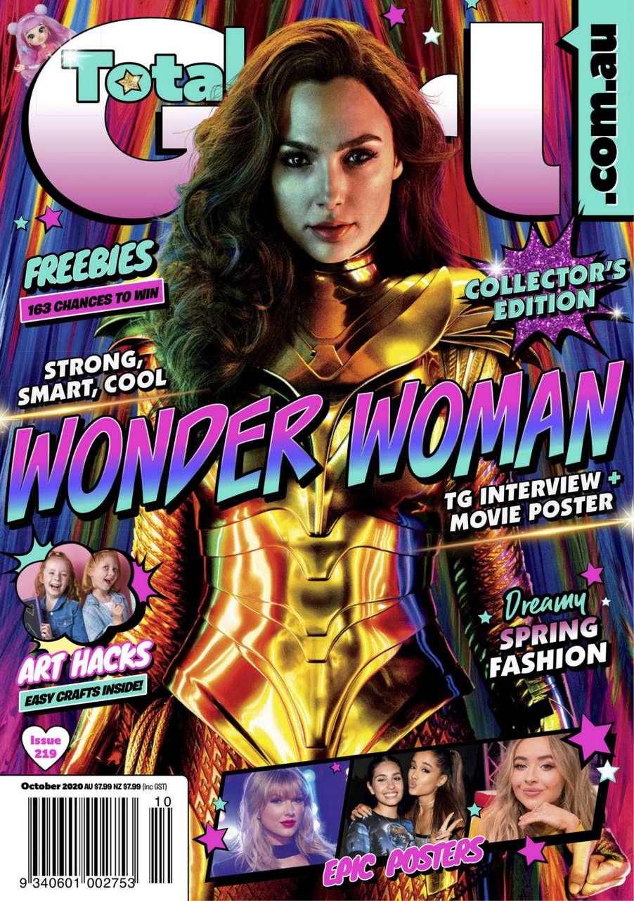 Gal Gadot Total Girl Magazine October