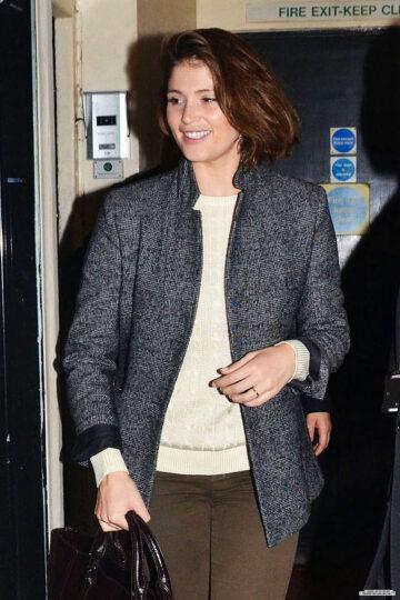 Gemma Arterton Leaves Adelphi Theatre London