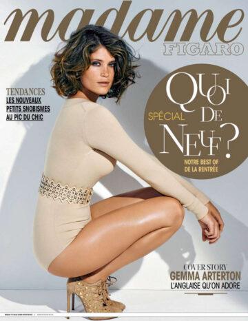 Gemma Arterton Madame Figaro Magazine August 2014 Issue