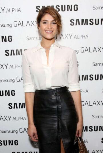 Gemma Arterton Samsung Galaxy Alpha Launch Party London