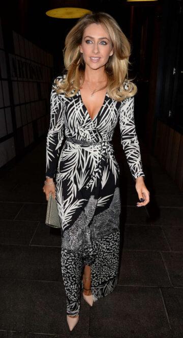 Gemma Merna Her Leaving Party Manchester