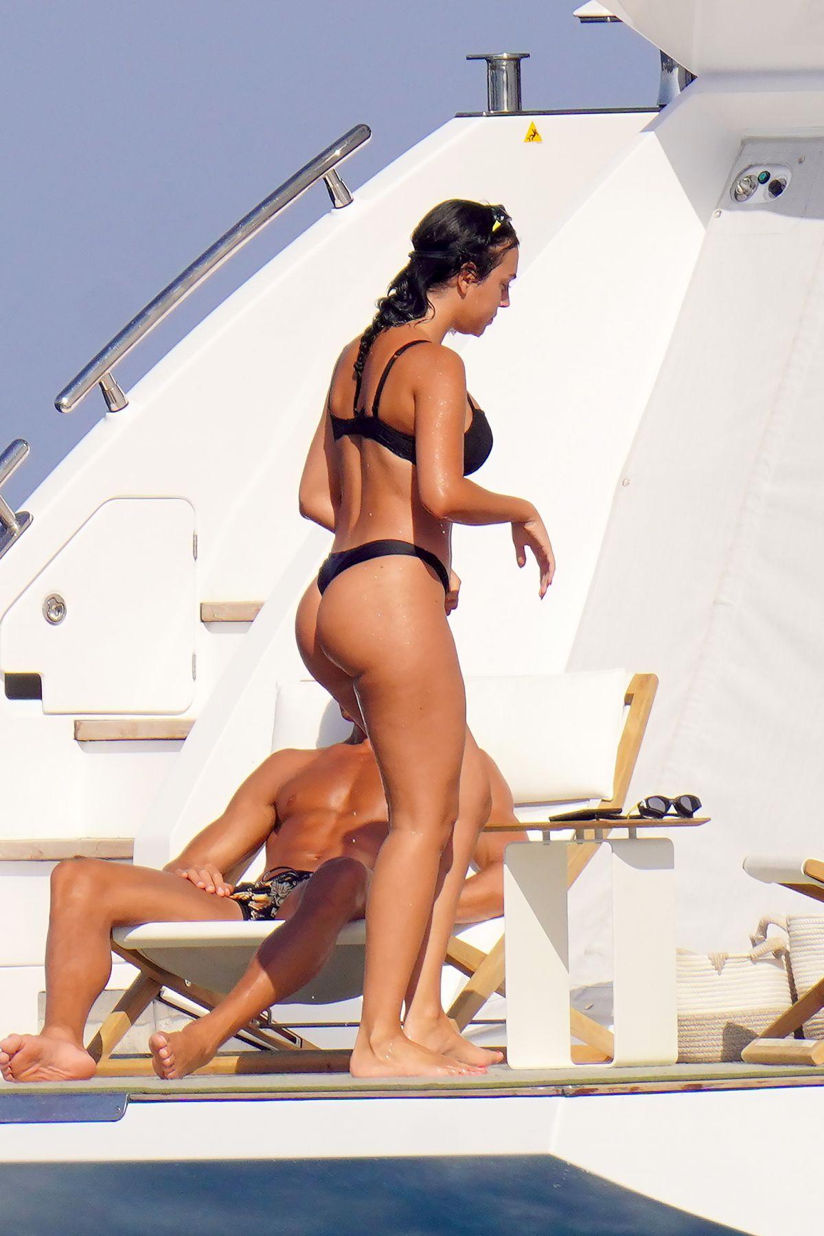 Georgina Rodriguez Bikini Yacht France