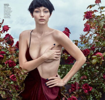 Gigi Hadid For Vogue Magazine