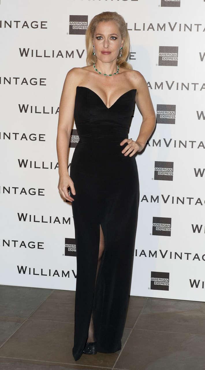 Gillian Anderson Pre Bafta Dinner London