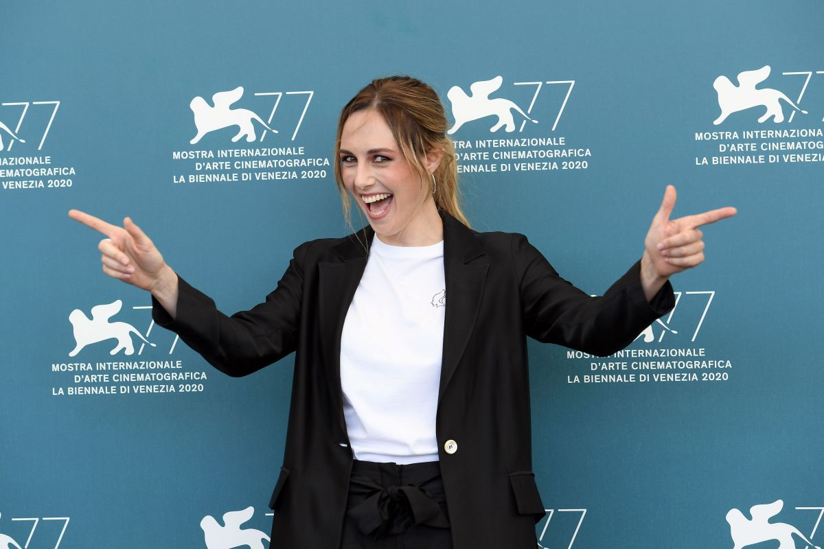 Giulia Petrini Predators Photocall 2020 Venice Film Festival