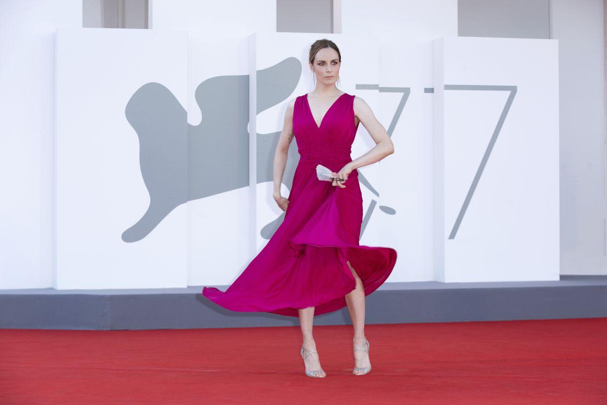 Giulia Petrini Predators Premiere 77th Venice Film Festival