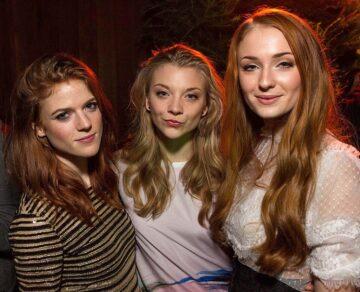 Got Girls Rose Leslie Natalie Dormer Sophie Turner