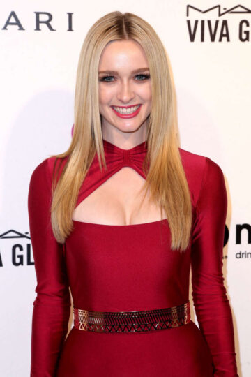 Greer Grammer Elton John Aids Foundation S Oscar Viewing Party West Hollywood