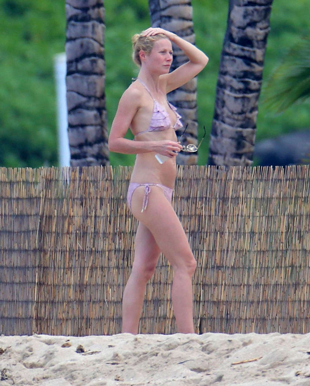 Gwyneth Paltrow Bikini Beach Hawaii
