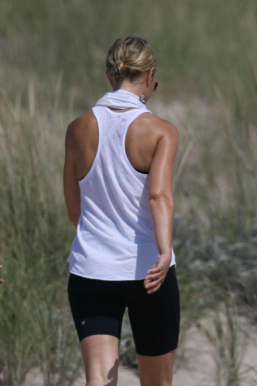 Gwyneth Paltrow Out Hiking Hamptons