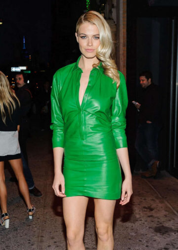 Hailey Clauson Sports Illustrated Fashionable 50 Event New York