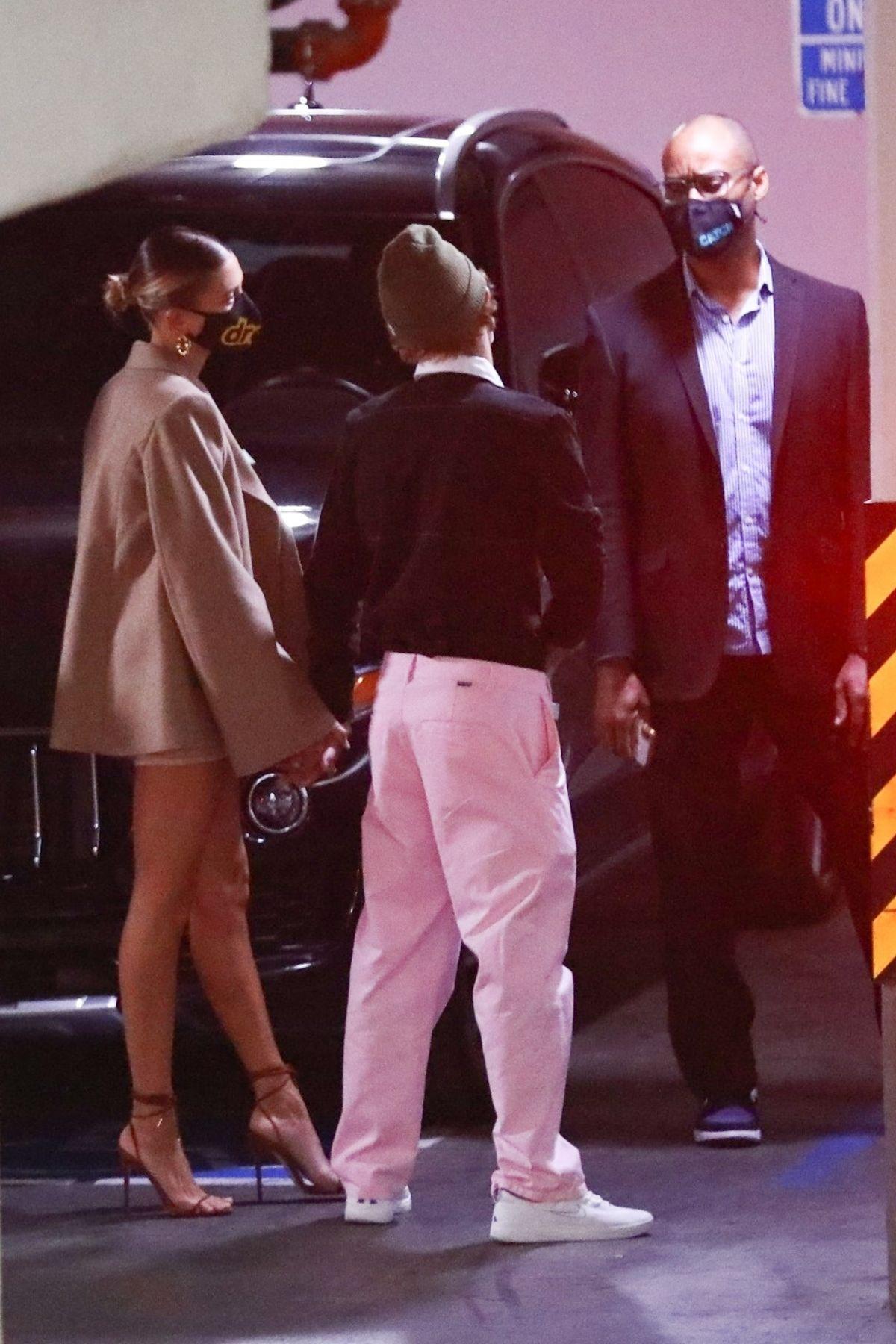 Hailey Justin Bieber Catch La West Hollywood