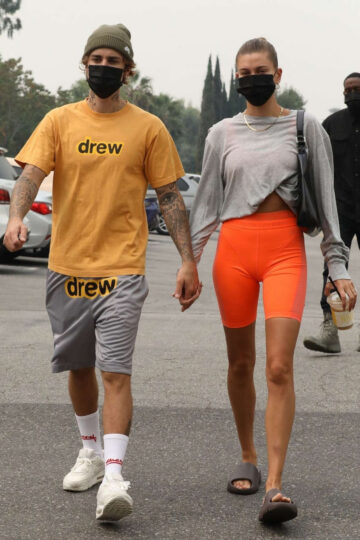 Hailey Justin Bieber Heading To Pilates Class Beverly Hills