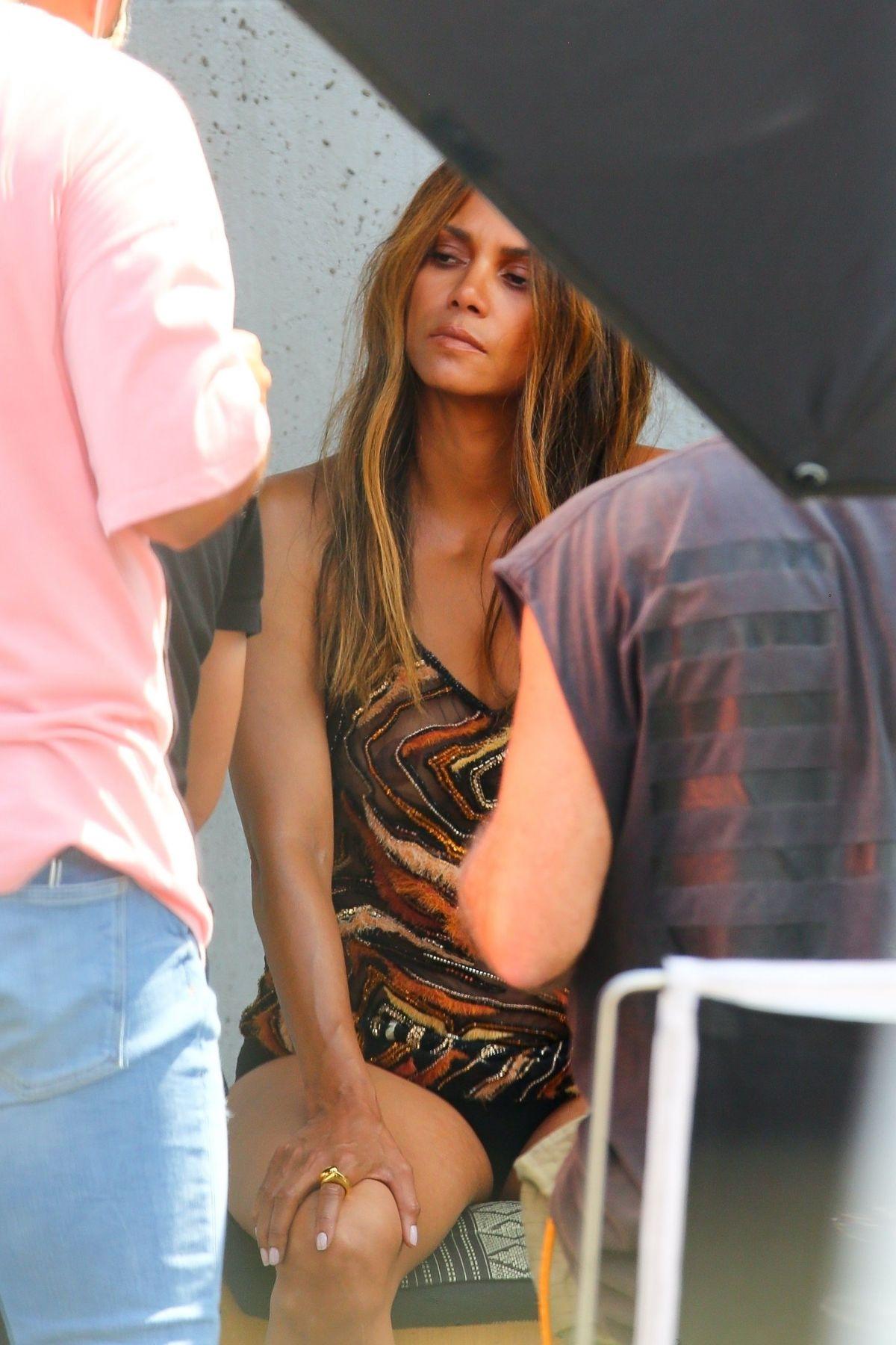 Halle Berry Photoshoot Los Angeles